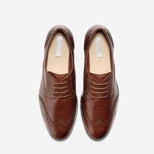 Cole Haan Jager Wingtip Oxford - Size 9.5